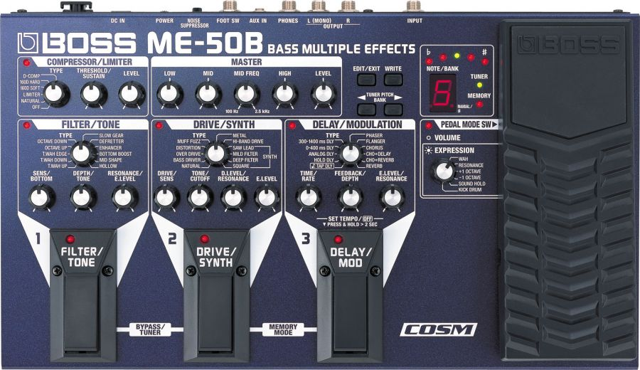 ME-50B Bass Multi-Effects Pedal