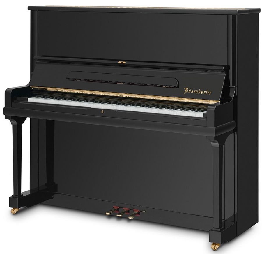 b sendorfer 130cl upright piano in polished ebony finish yamaha music london. Black Bedroom Furniture Sets. Home Design Ideas