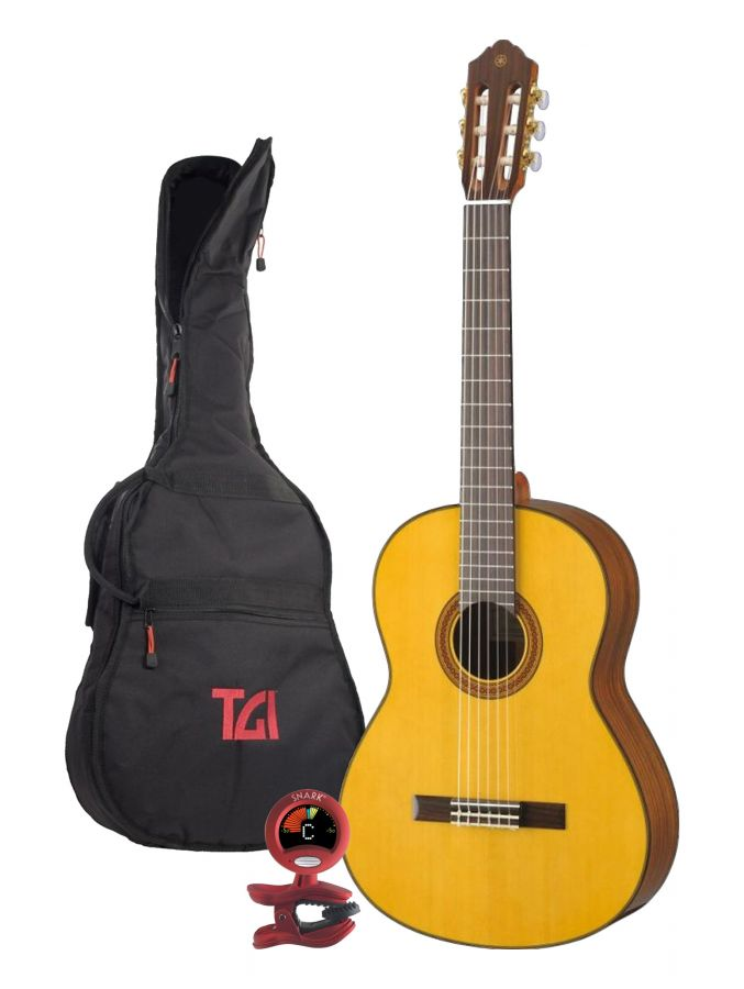 CG162S Yamaha Classical Guitar Package
