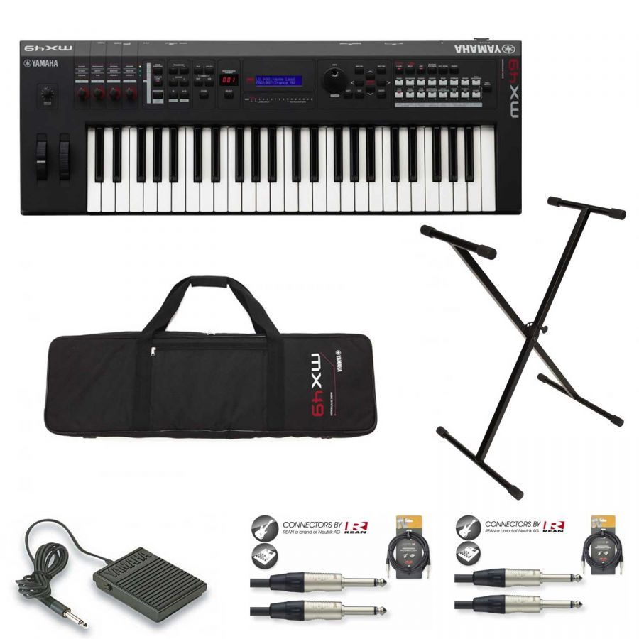 MX49 Mk II Synthesizer - Beginner Home Recording Package