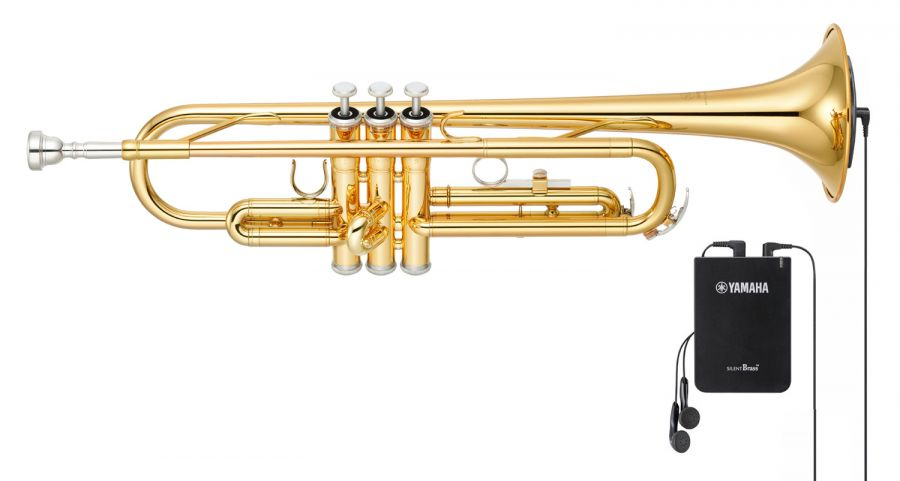 Silent Trumpet Pack with Yamaha YTR2330 Trumpet & SB-7X Silent Brass System