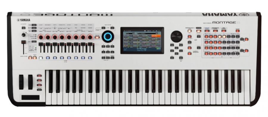 Montage 6 White Edition Synthesizer