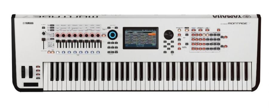 Montage 7 White Edition Synthesizer