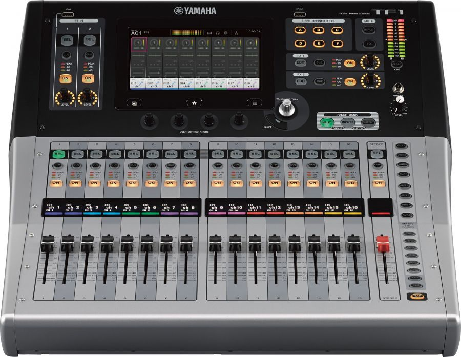 Yamaha tf1 digital mixing console 40 input channel usb for Yamaha tf series