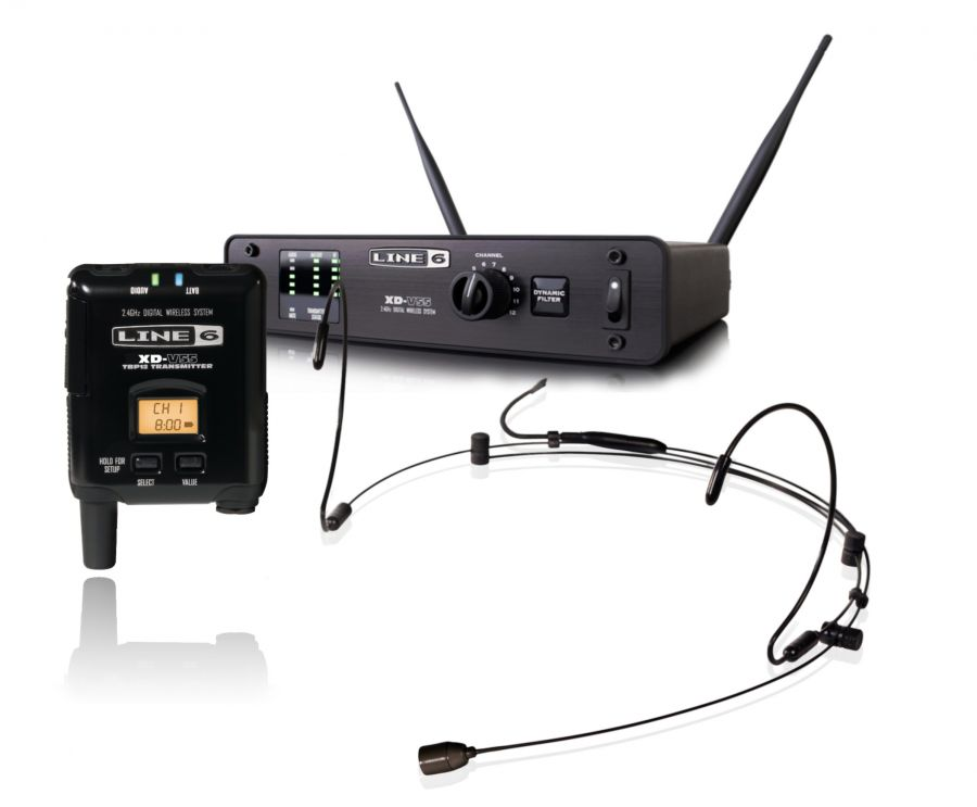XD-V55HS Wireless Headset Microphone System