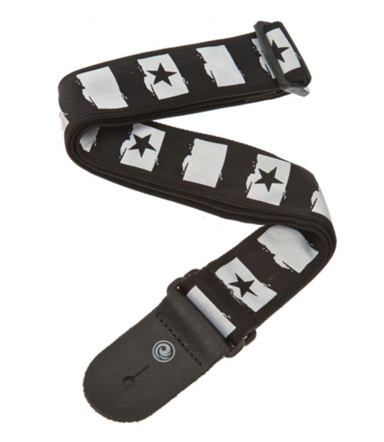 Woven Guitar Strap, Rock Star Design
