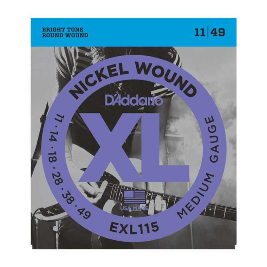 EXL115 Blues/Jazz Rock XL Electric Strings