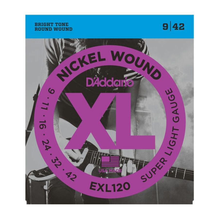EXL120 Super Light XL Electric Strings