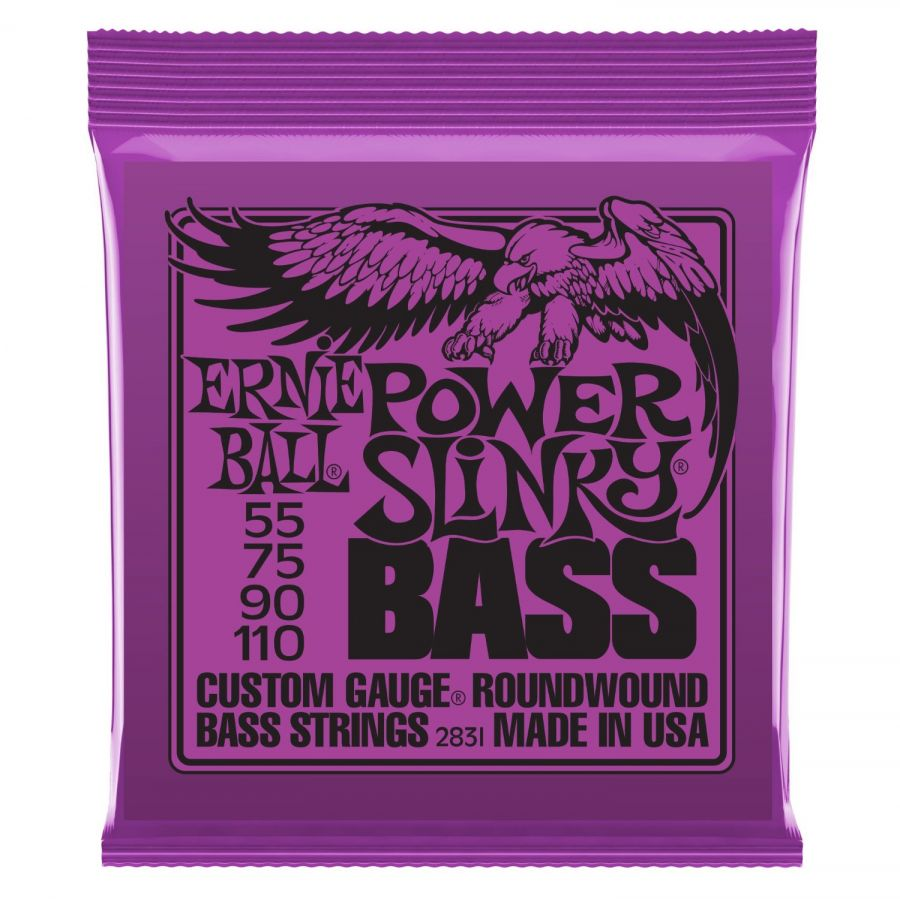 EB2831 Power Slinky 55-110 Bass String Set