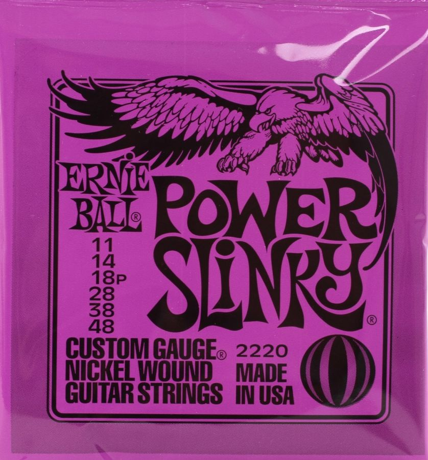 EB2220 Power Slinky 2220 Nickel Guitar Strings 11 - 48