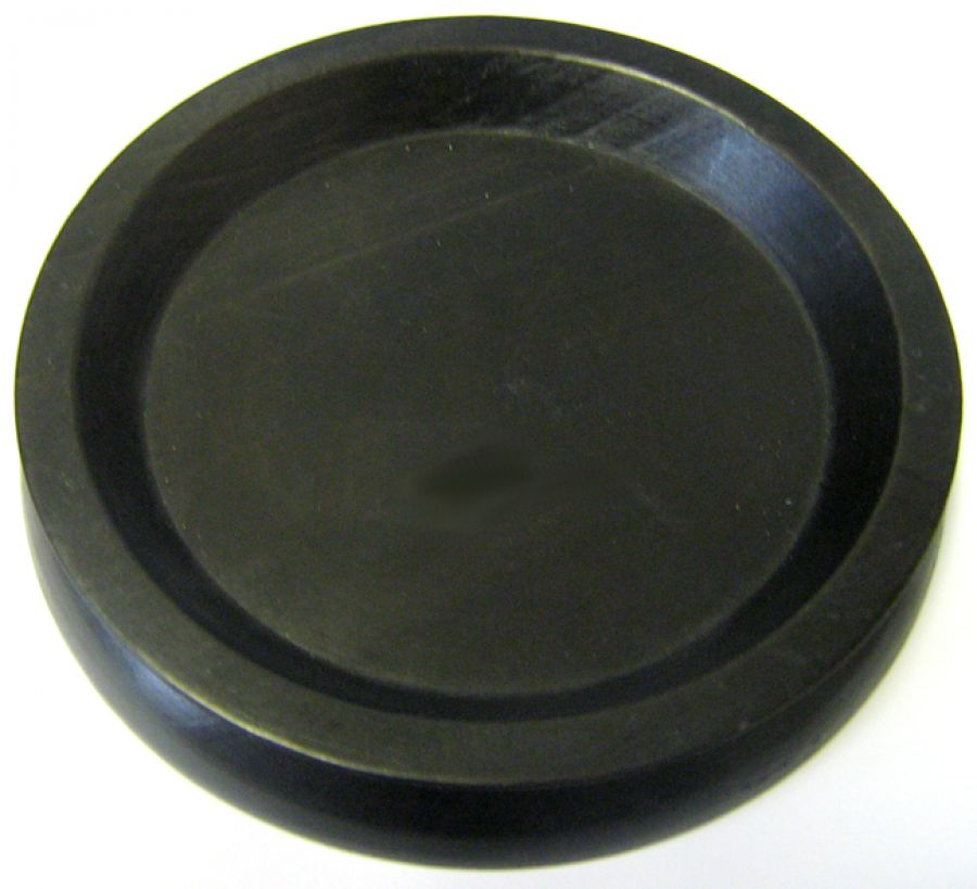 Large Black Piano Castor Cup