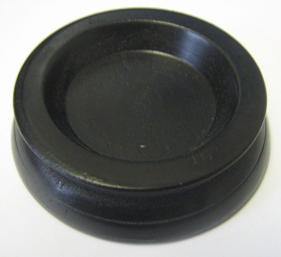 Piano Caster Cup - Small Black