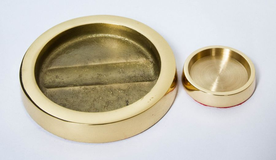 Brass Caster Cup Small