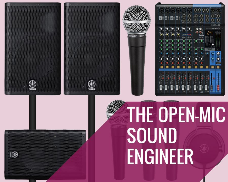 The Open-Mic Sound Engineer Pack