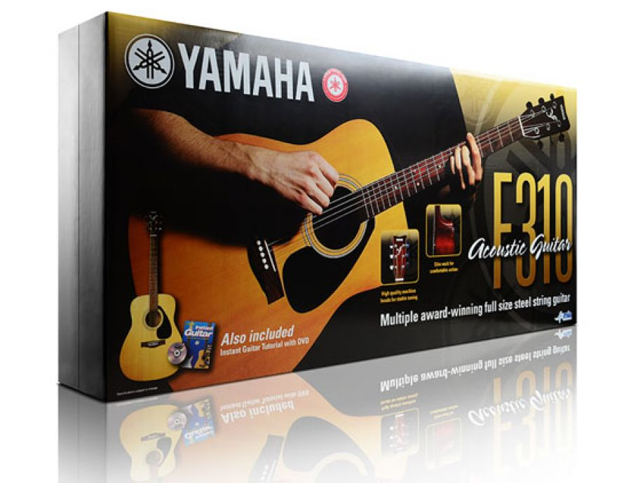 F310 Natural Acoustic Guitar Plus Package