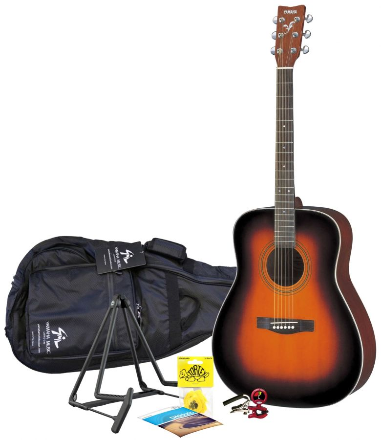 F370 Sunburst Acoustic Guitar Package