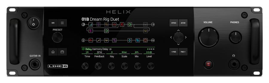 Helix Rack -  Tour Grade Rack Guitar Processor