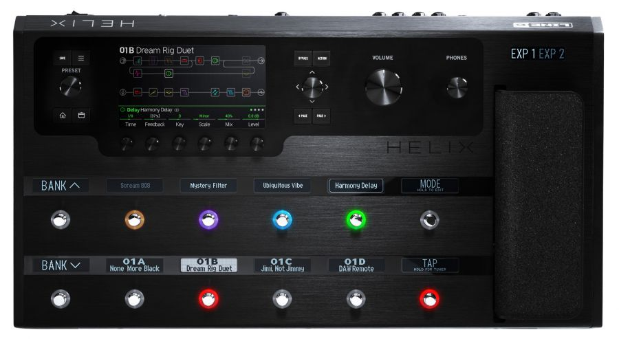 Helix Floor Tour-Grade Guitar Processor