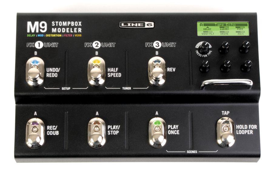 line 6 m9 stompbox modeller guitar effects pedal yamaha music london. Black Bedroom Furniture Sets. Home Design Ideas