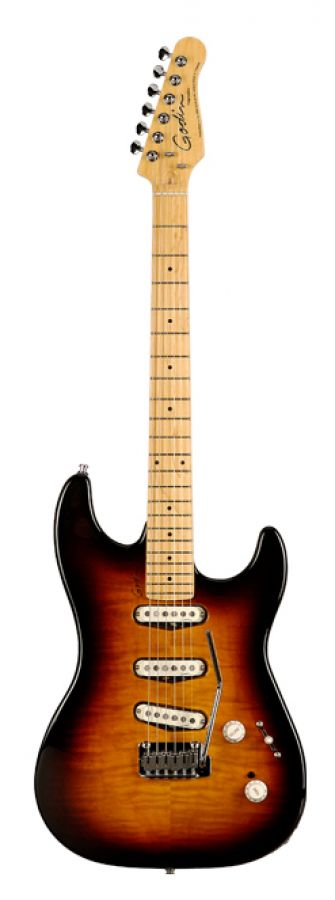 Progression Electric Guitar in Vintage Burst Finish with Maple Neck