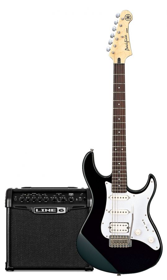 Pacifica Electric Guitar & Spider Amp Pack II