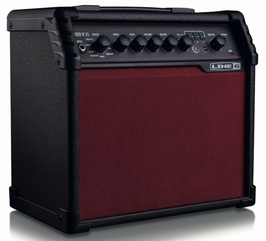 Spider V 20 Red Guitar Amp