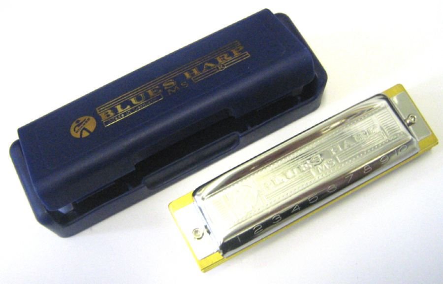 Blues Harp Harmonica in F Major