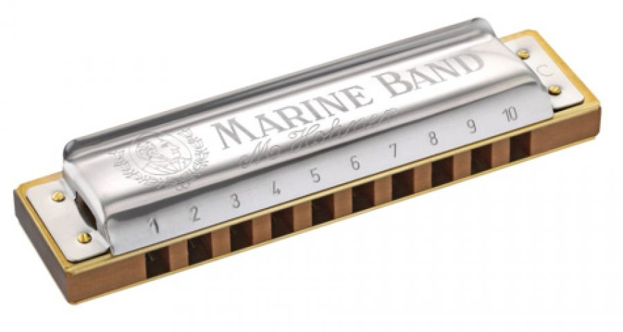 Marine Band 1896 Diatonic Harmonica in Ab