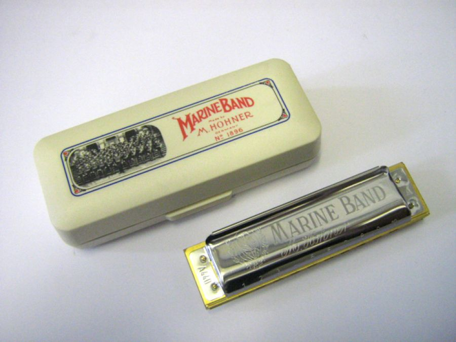 Marine Band Harmonica in D Major