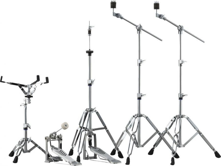 HW680W Double-Braced Drum Hardware Set (with Chain-type Foot Pedal)