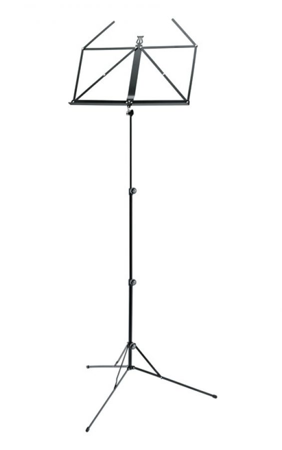 101 Foldable Sheet Music Stand in Black
