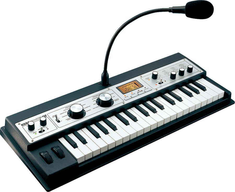 microKORG XL Virtual Analogue Synthesizer/Vocoder in Black/Silver Finish