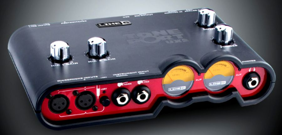 NEW DRIVERS: LINE 6 TONEPORT UX2