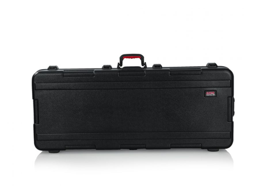 Molded 61-note Keyboard Case With Wheels