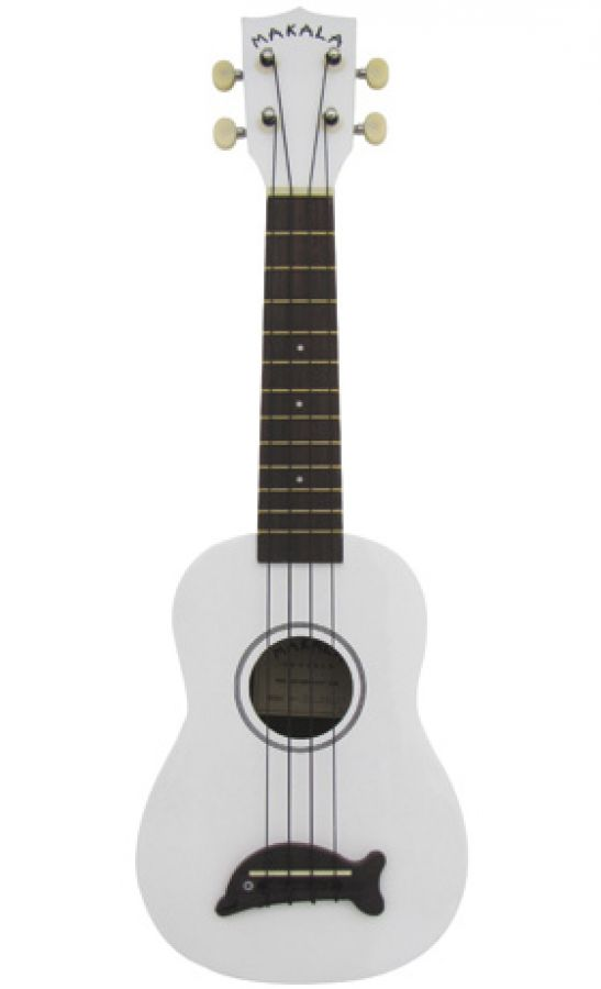 Ukulele in Pearl White