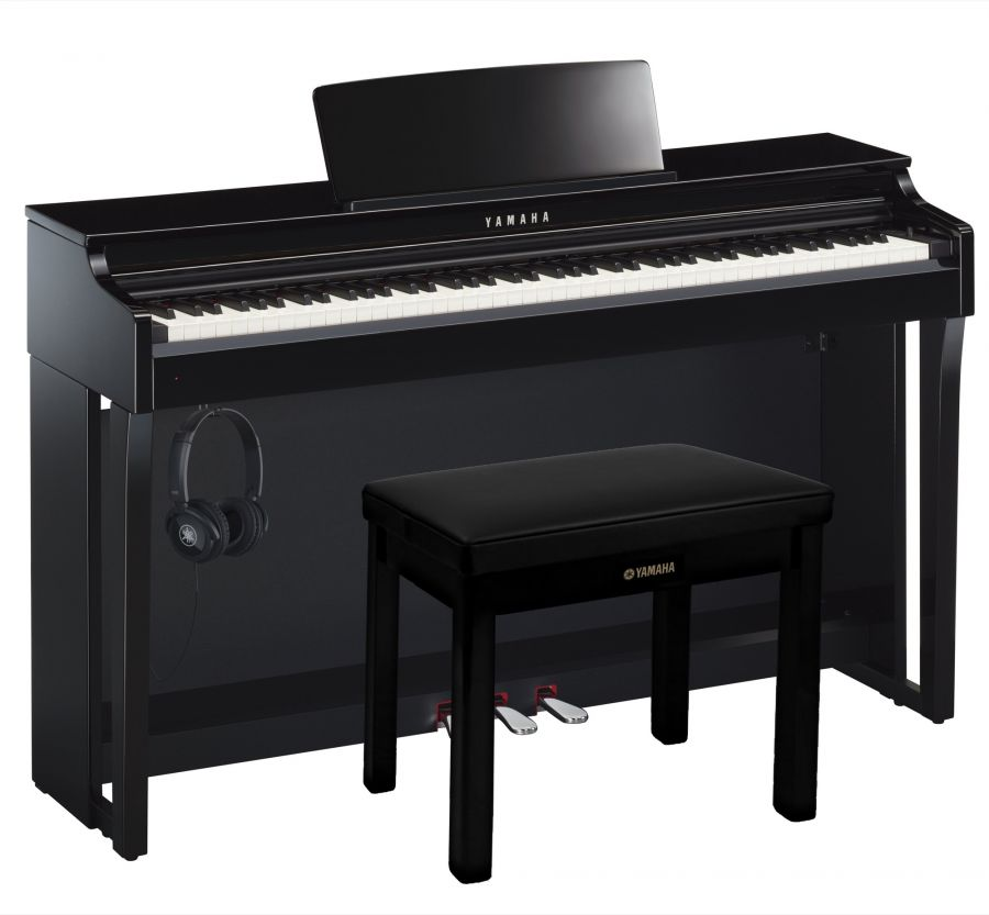CLP-625 Deluxe Clavinova Piano Pack in Polished Ebony Finish