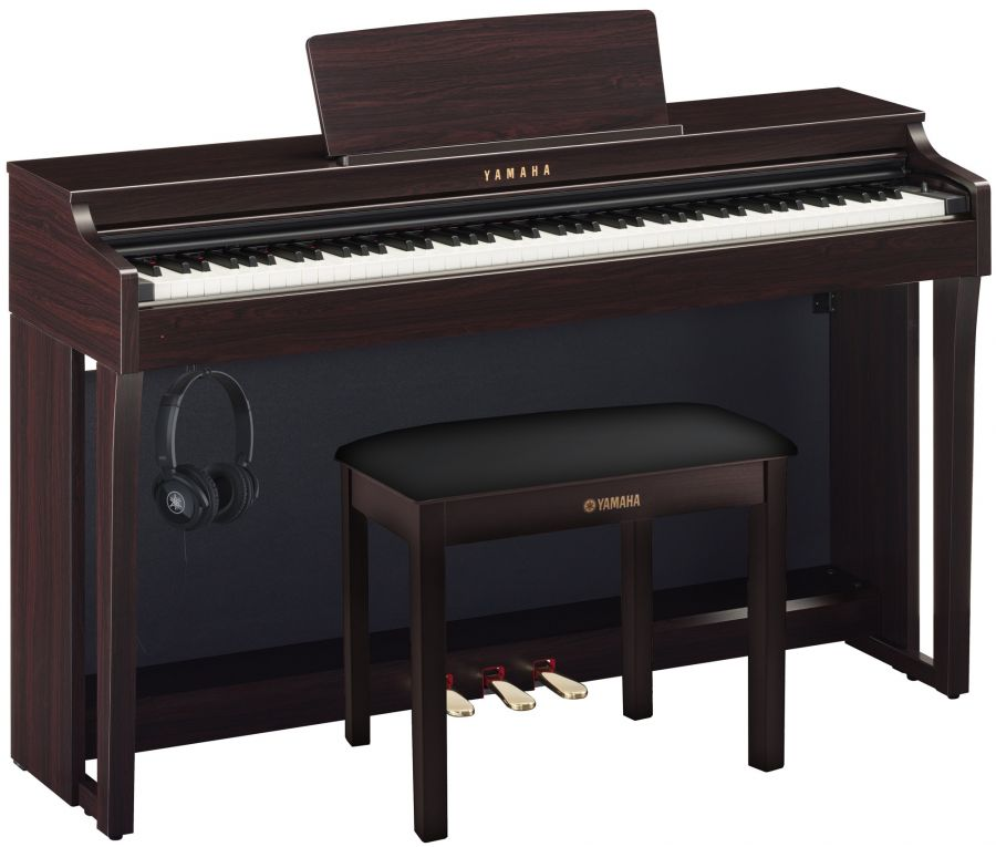 CLP-625 Deluxe Clavinova Piano Pack in Rosewood Finish