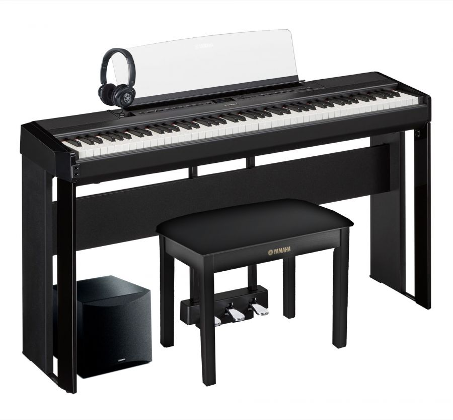Yamaha P 515 Deluxe Digital Piano Pack In Black Finish