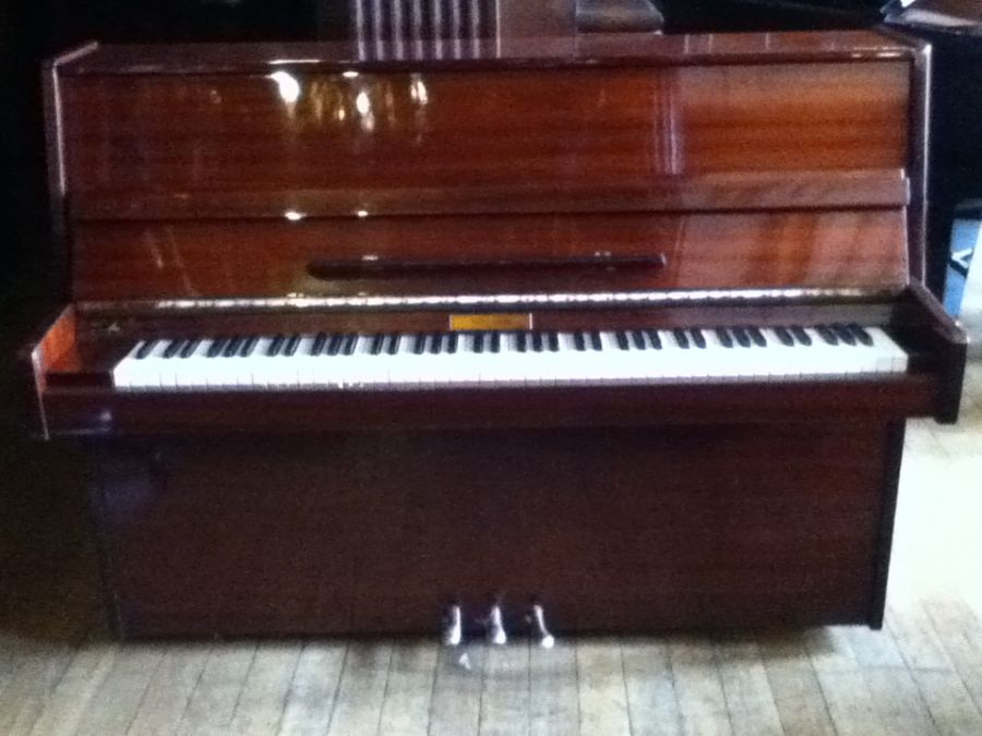 Pre-owned Neumann Upright Piano - Polished Black