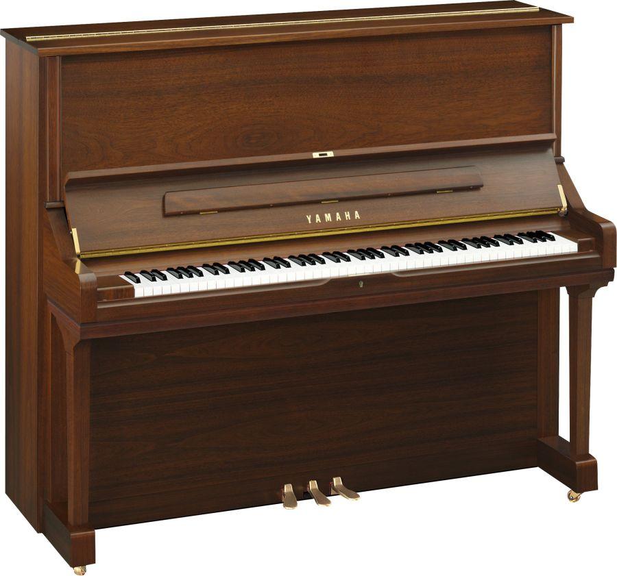 Yamaha u3 upright piano in american walnut satin finish for U3 yamaha price