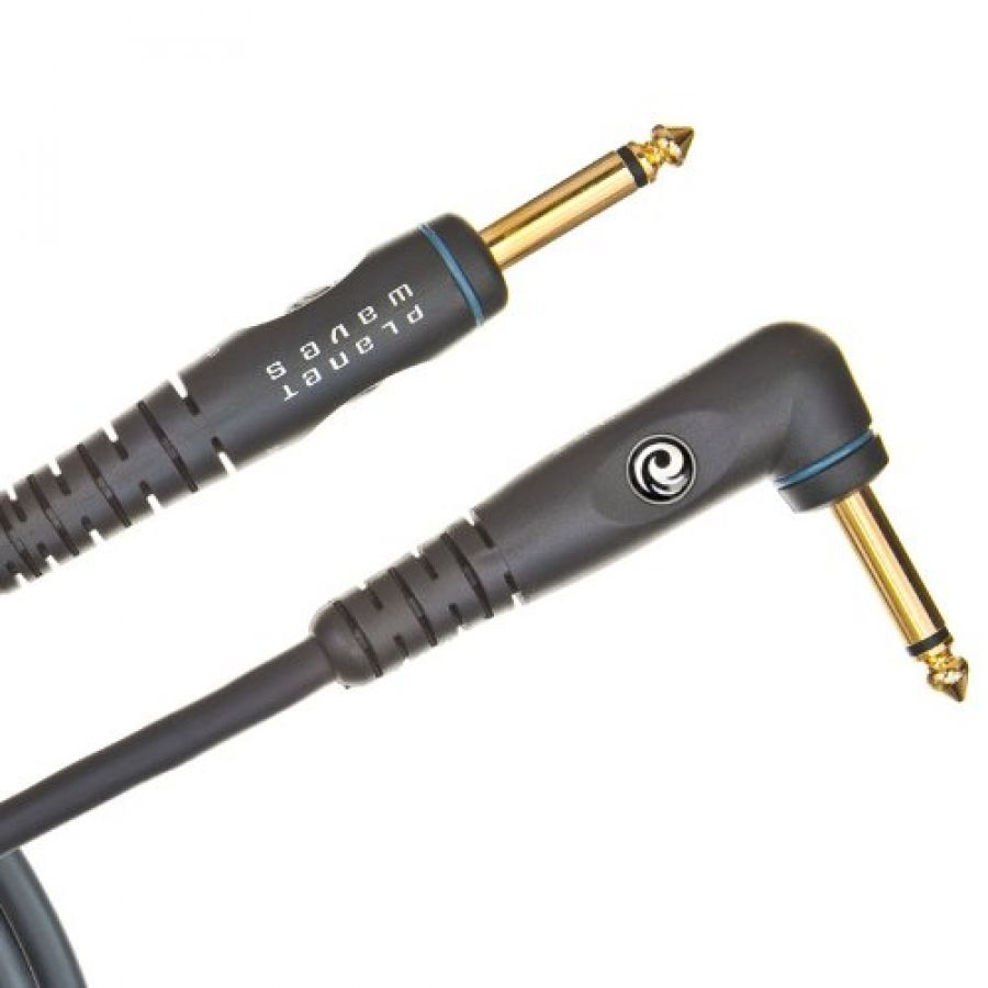 PW-GRA-10 Custom Series Instrument Cable - Right Angle 10 feet