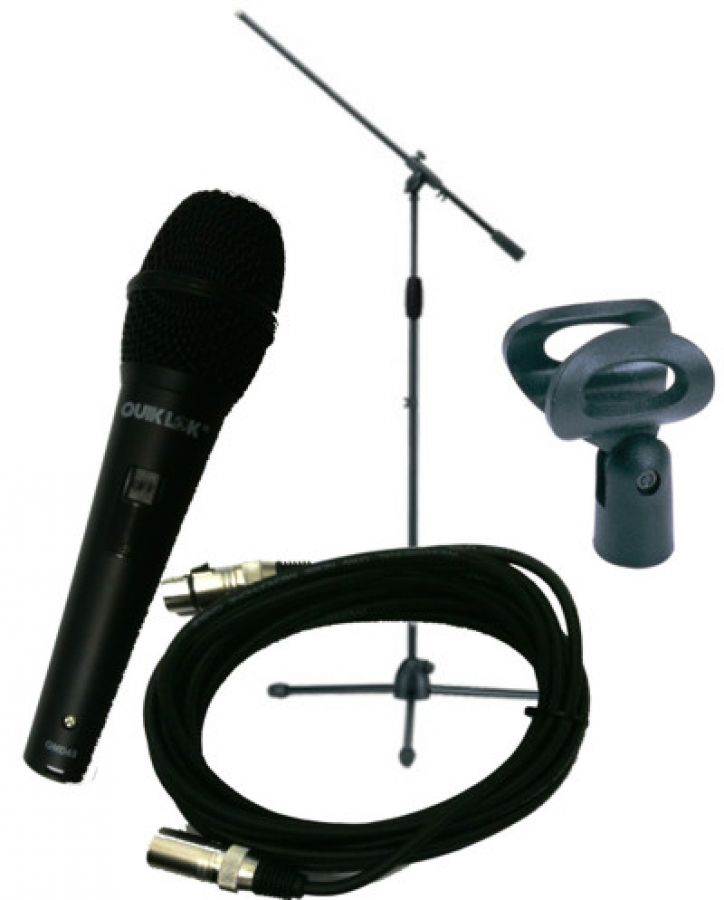 A300 Microphone & Mic Stand Kit