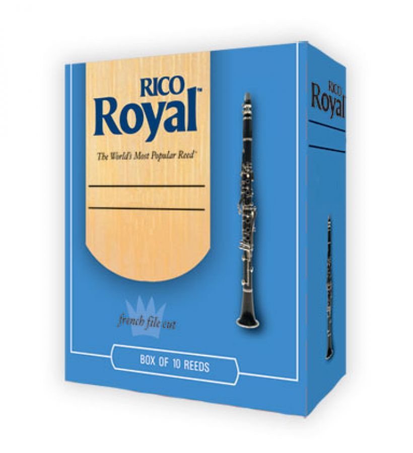 Royal REB1020 Size 2 Reeds for Bass Clarinet - Box of 10