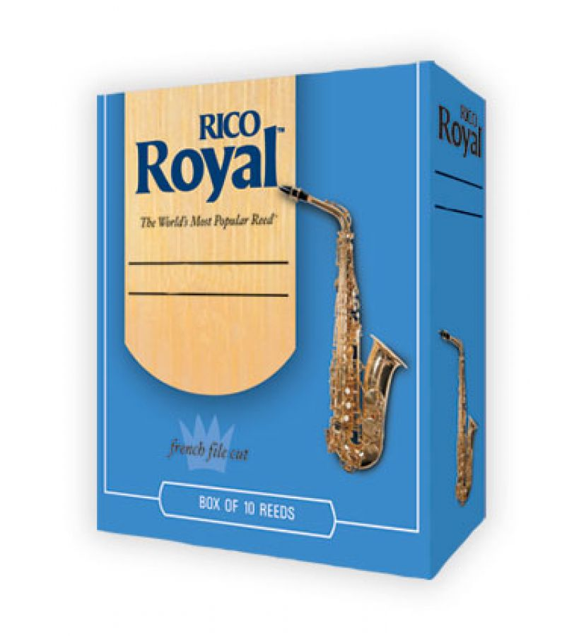 Royal RKB1010 Size 1 Reeds for Tenor Saxophone - Box of 10