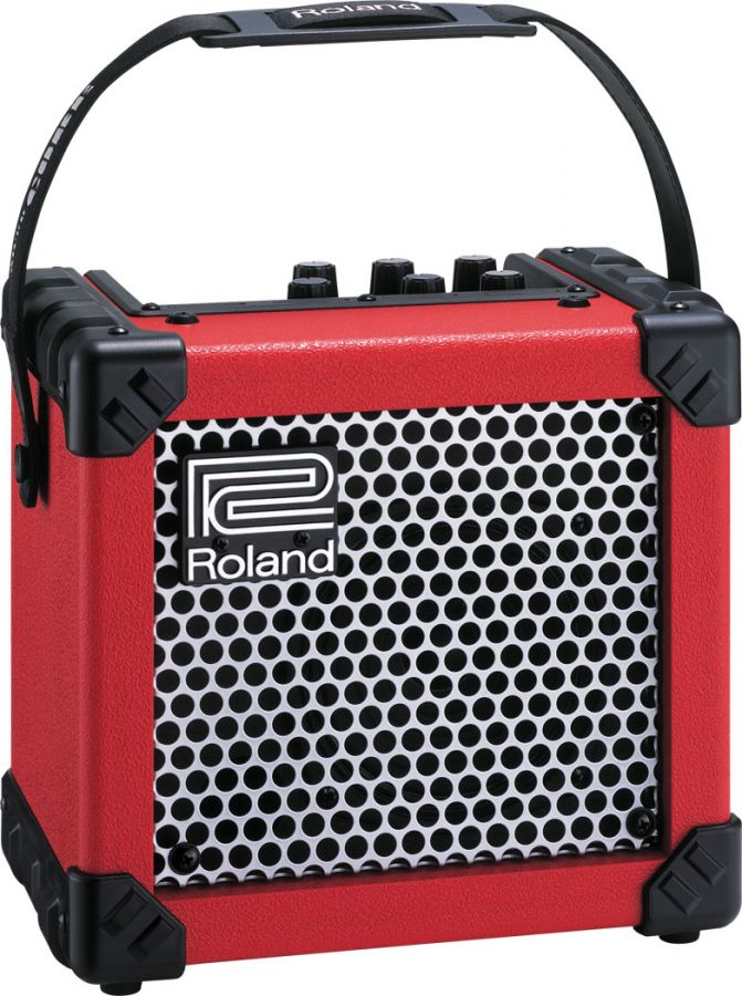 Micro Cube (Microcube) Portable Electric Guitar Amp, Red