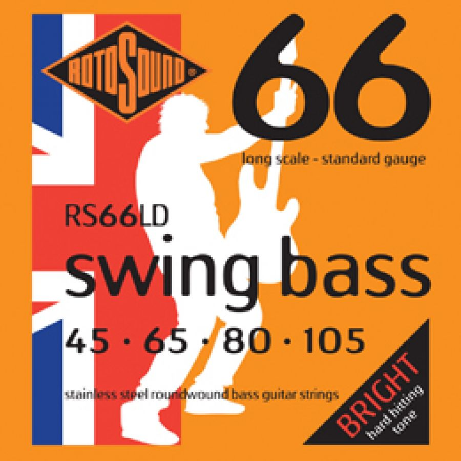 RS66LD Swing Bass guitar strings 45-105