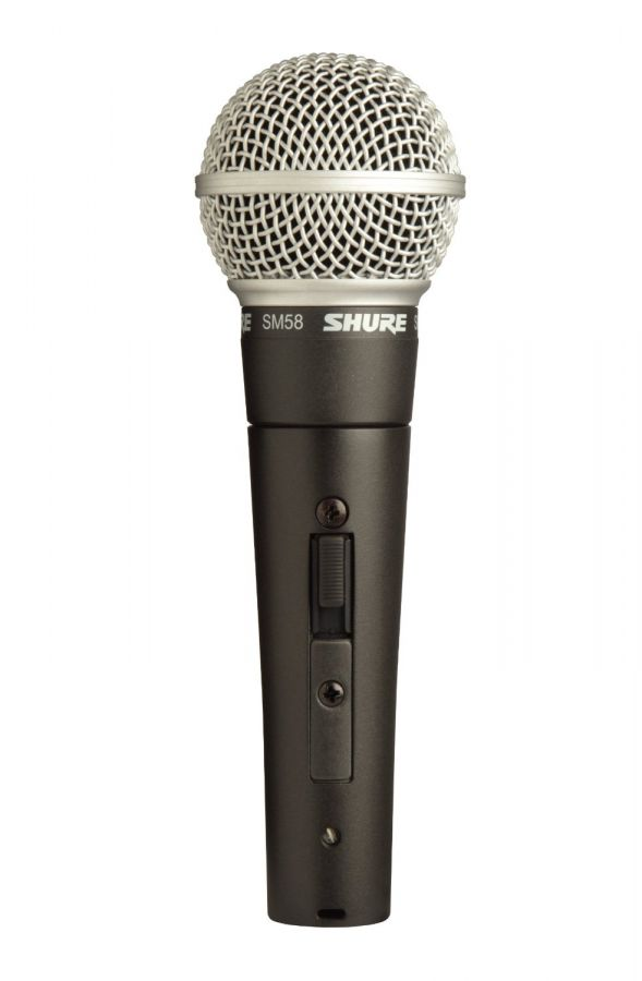 SM58S Vocal Microphone with switch