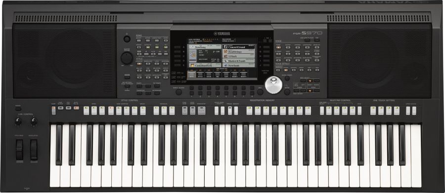 PSR-S970 Arranger Workstation Keyboard