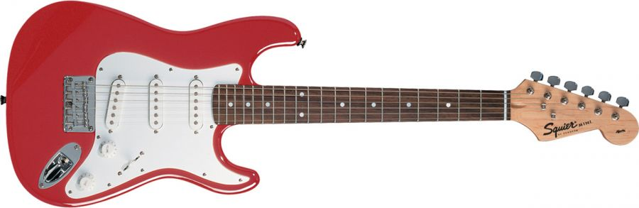 Mini Affinity Electric Guitar in Torino Red