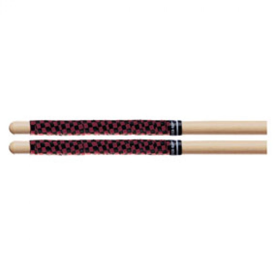 Drum Stick Wrap / Tape Checkerboard Red